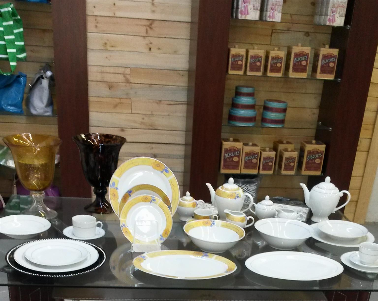 BLACK FRIDAY AT TRENDS HOMEWARE AND GIFTS-BUY 1 DINNER SET AND GET 1 FREE FREE FREE FREE