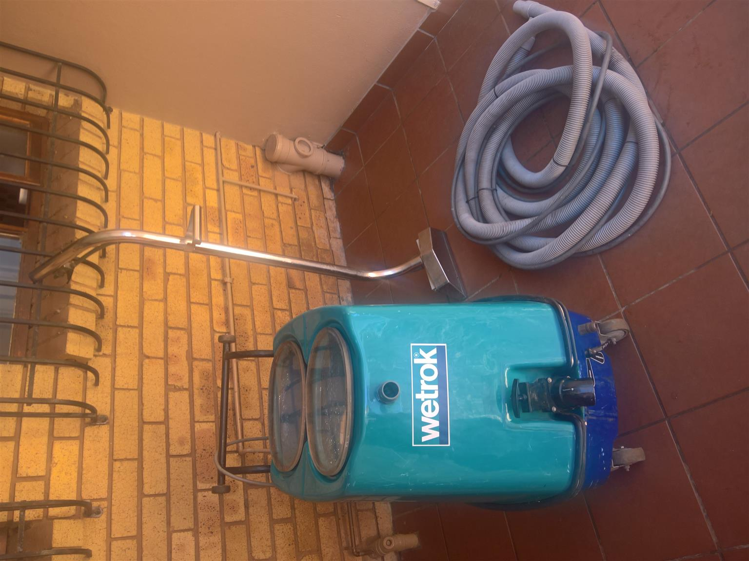 Wetrok Carpet and Upholstery Cleaner for Industrial use. Comes complete