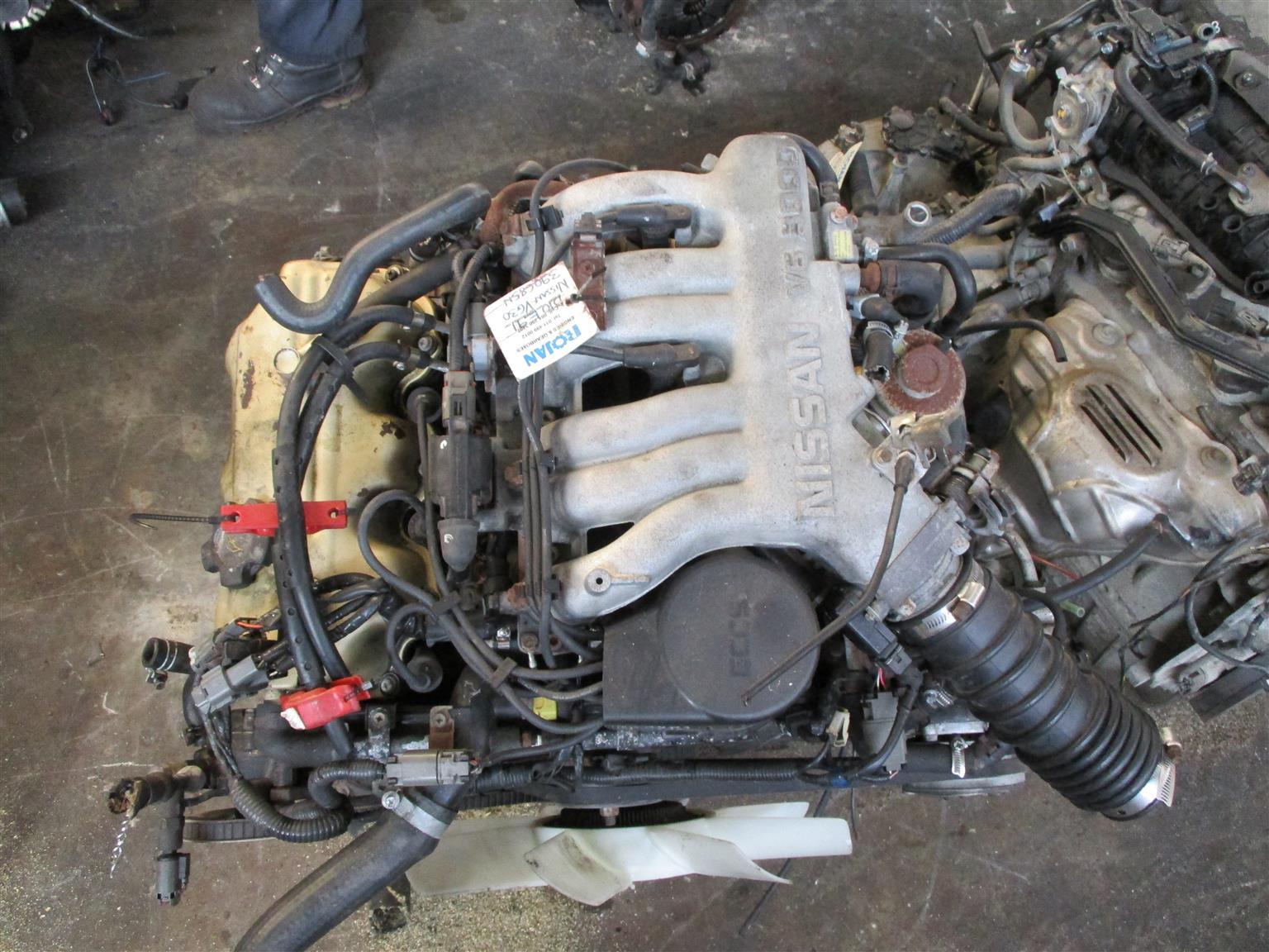 Nissan Hardbody 3.0 V6 Engine