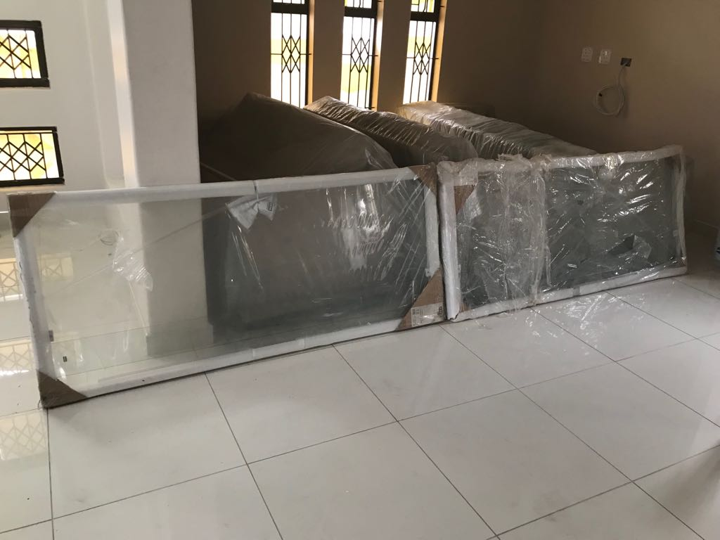 2 Brand new pivot shower doors for sale