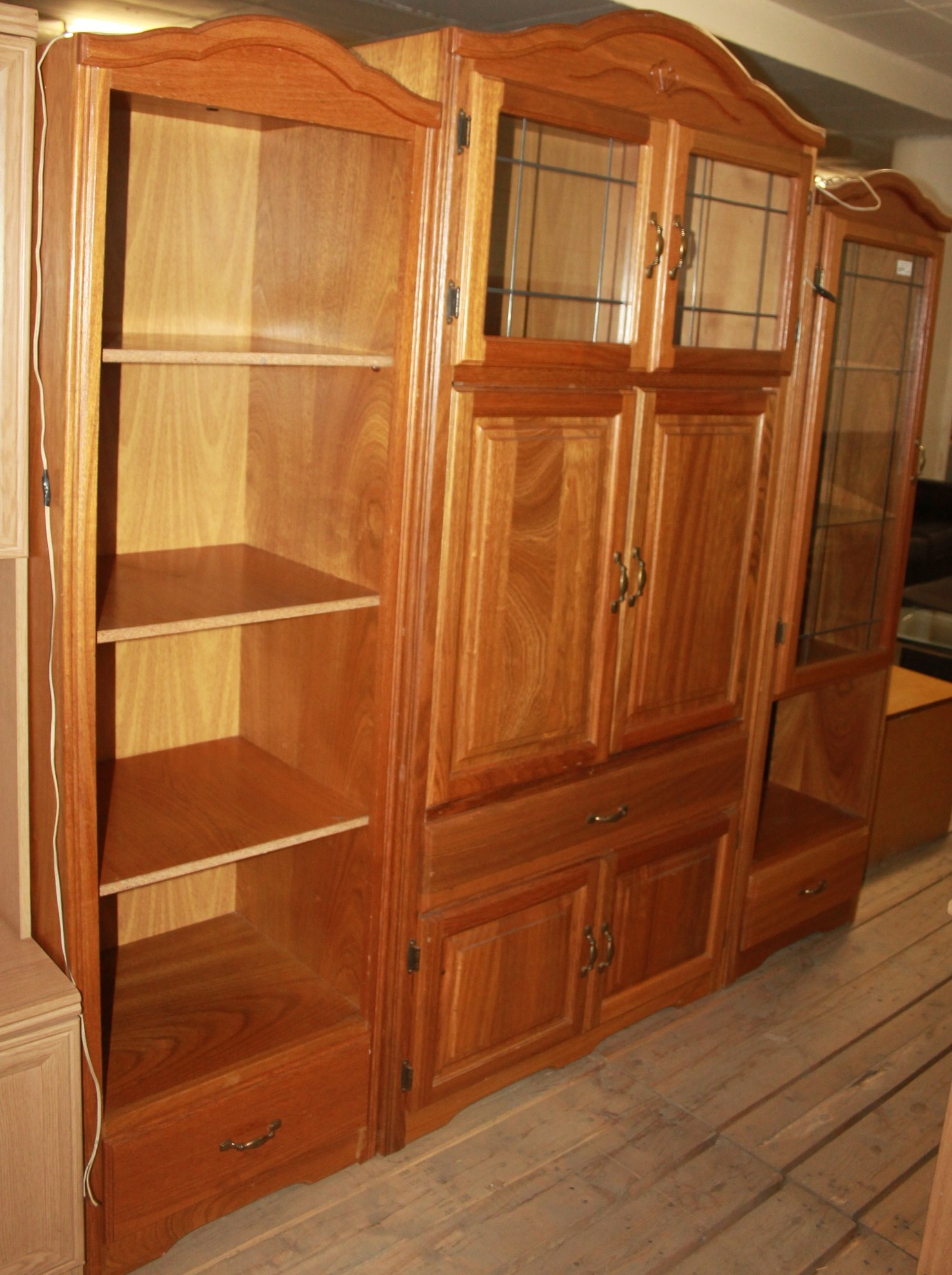 3 Piece wall unit S026979b #Rosettenvillepawnshop