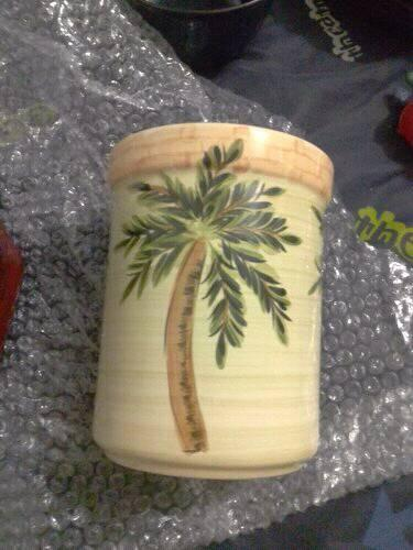Palm tree vase for sale