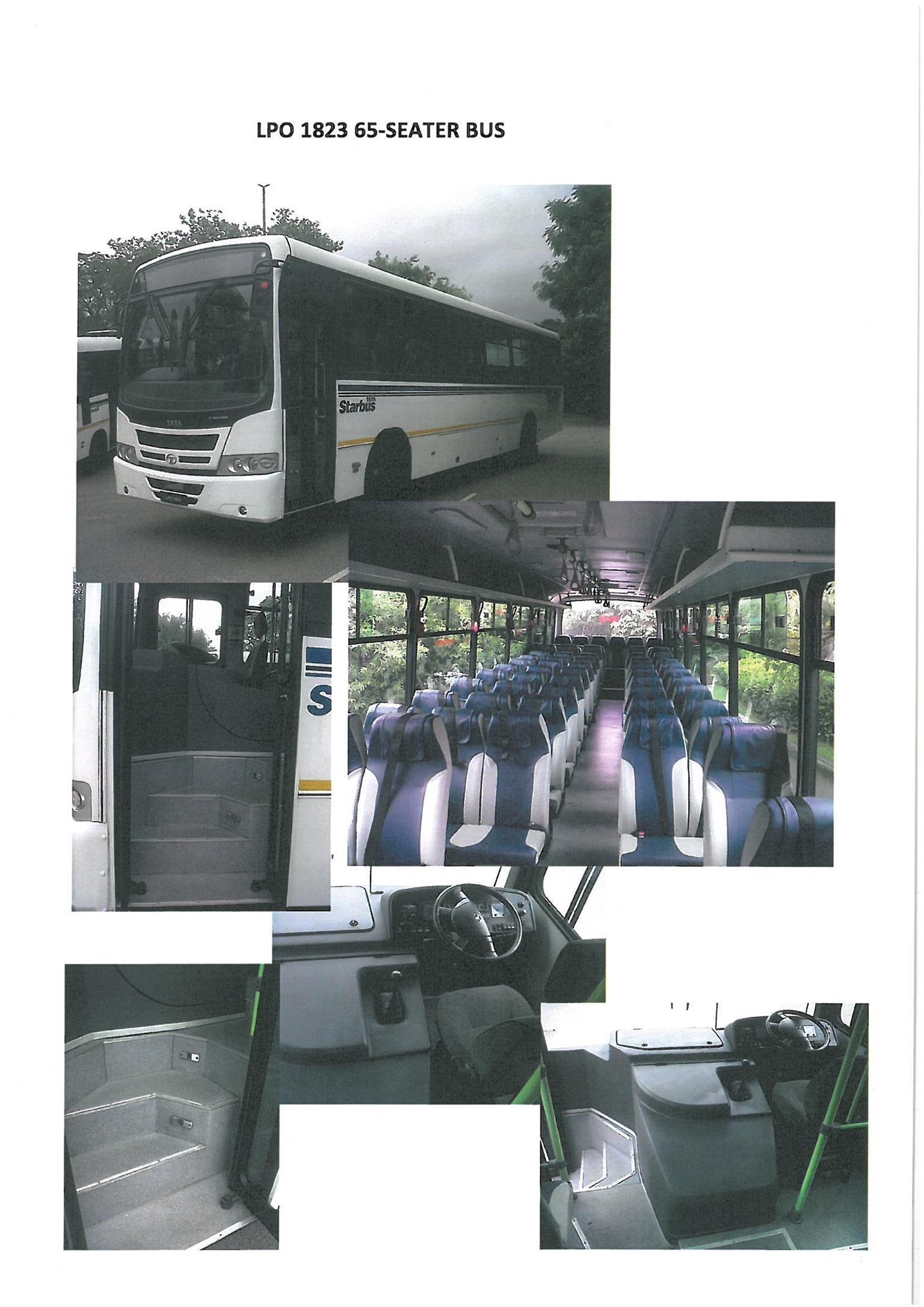 TATA  65 Seater LPO 1823 Bus 2016