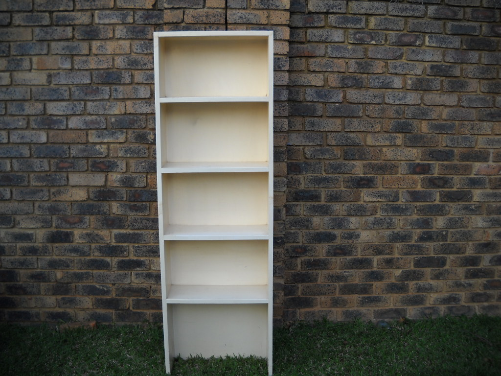 Painted Pine bookshelf
