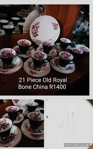21 Piece old royal bone china