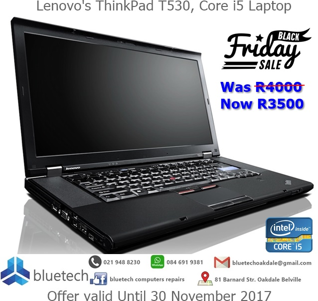 Lenovo's ThinkPad T530, Core i5 Laptop