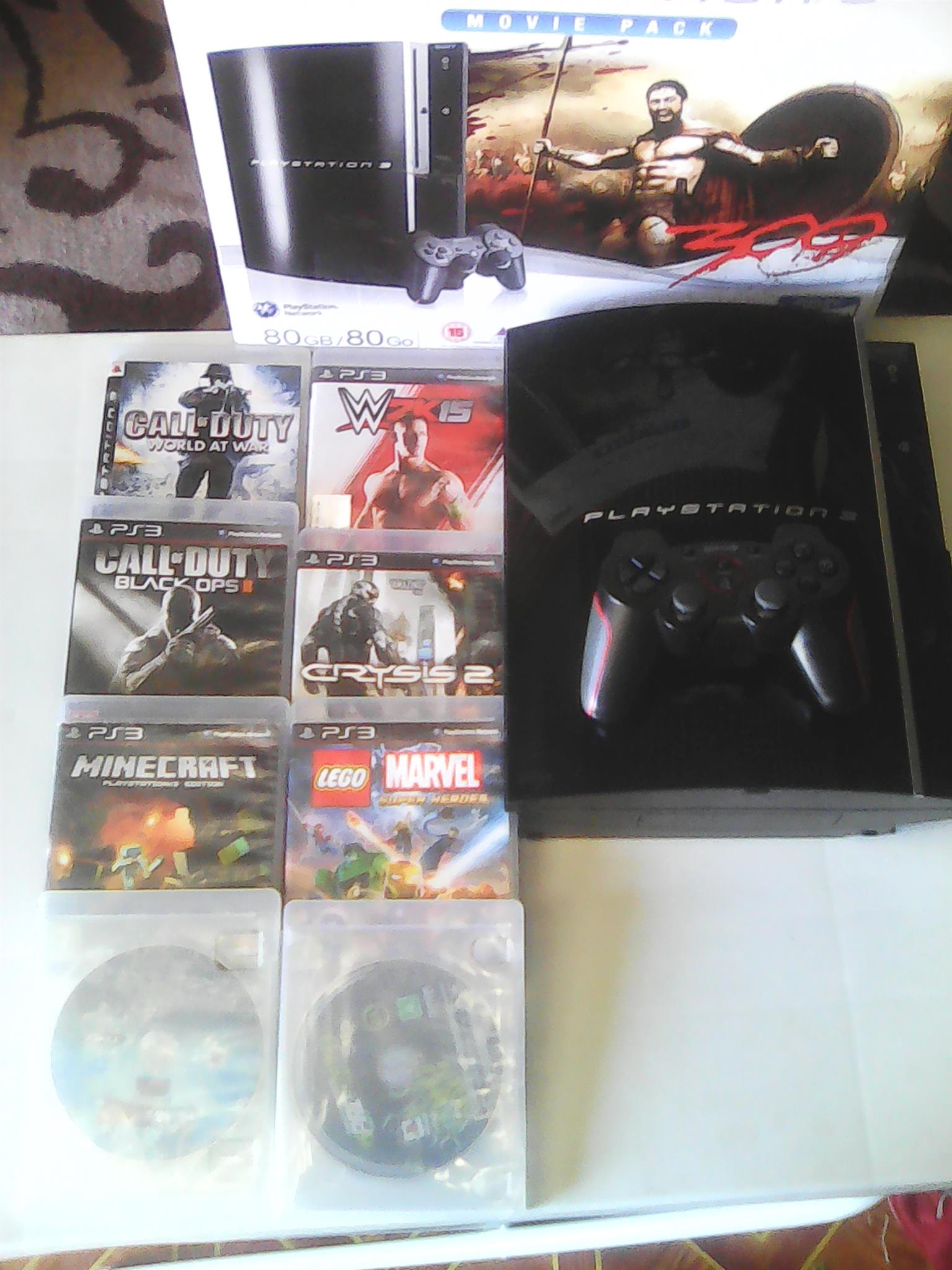 PS3+8 games negotiable