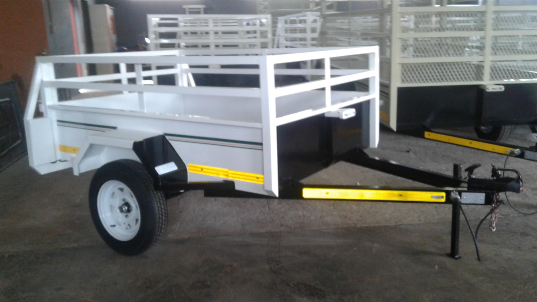 DINKY TRAILER FOR SALE BRAND NEW PAPERS INCL