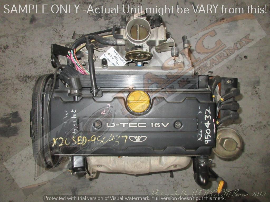 DAEWOO NUBIRA -X20SED 2.0L EFI 16V Engine