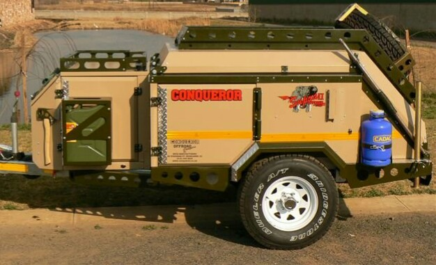 Conqueror 4×4 Off Road Camping Trailer