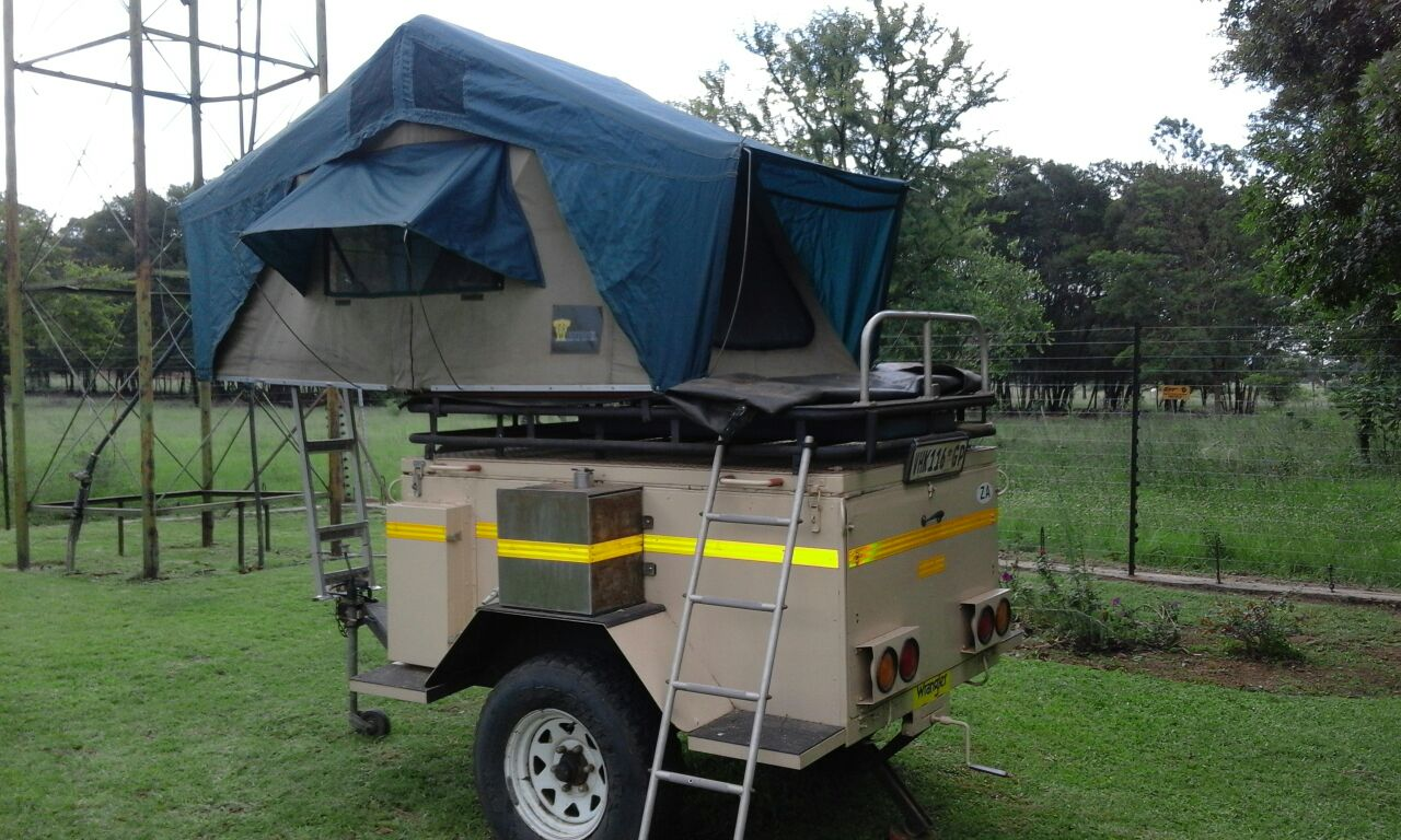 4x4 trailer with roof top tent & 4x4 trailer with roof top tent | Junk Mail