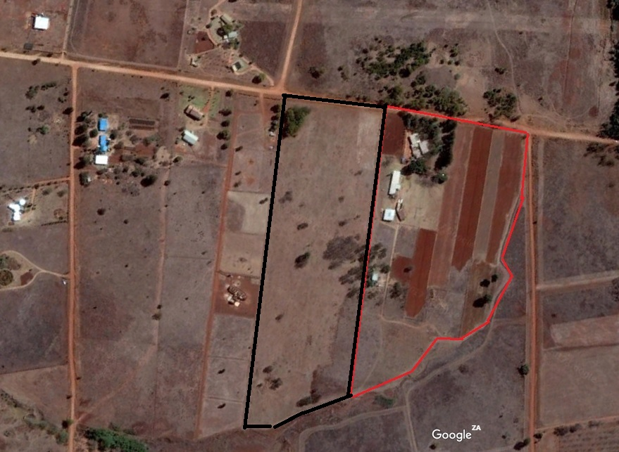 9.5 hectare plot for sale Pretoria East