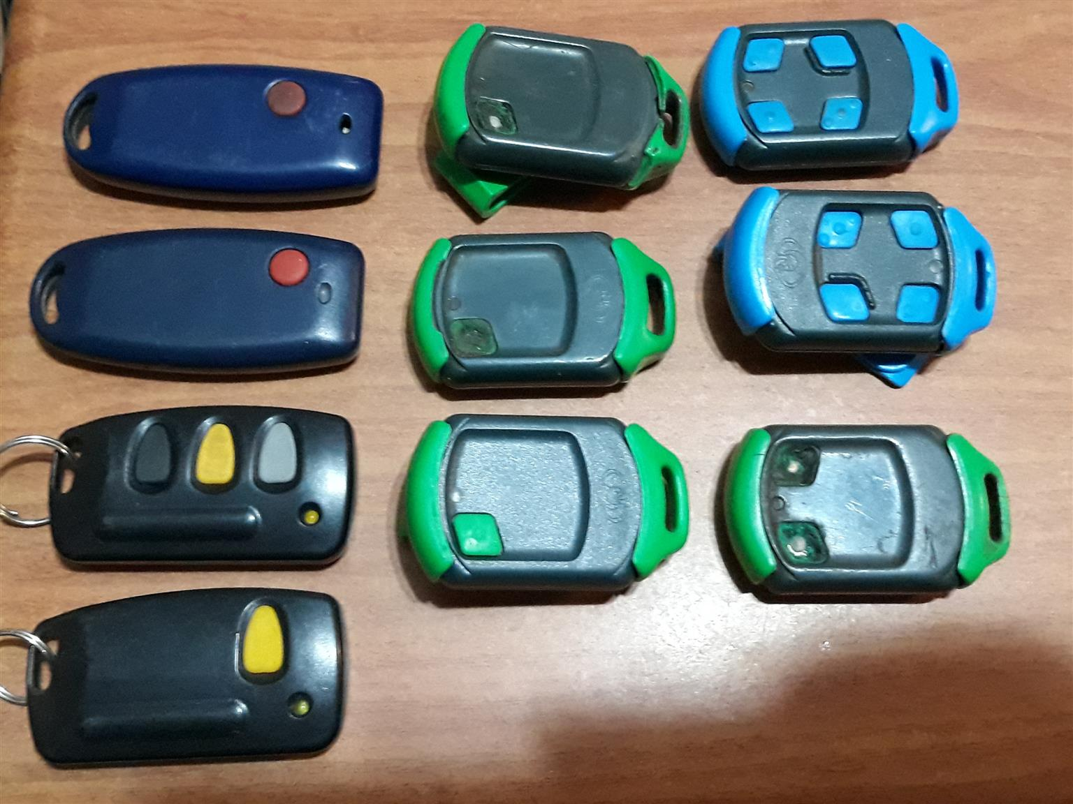 Various Gate Remotes