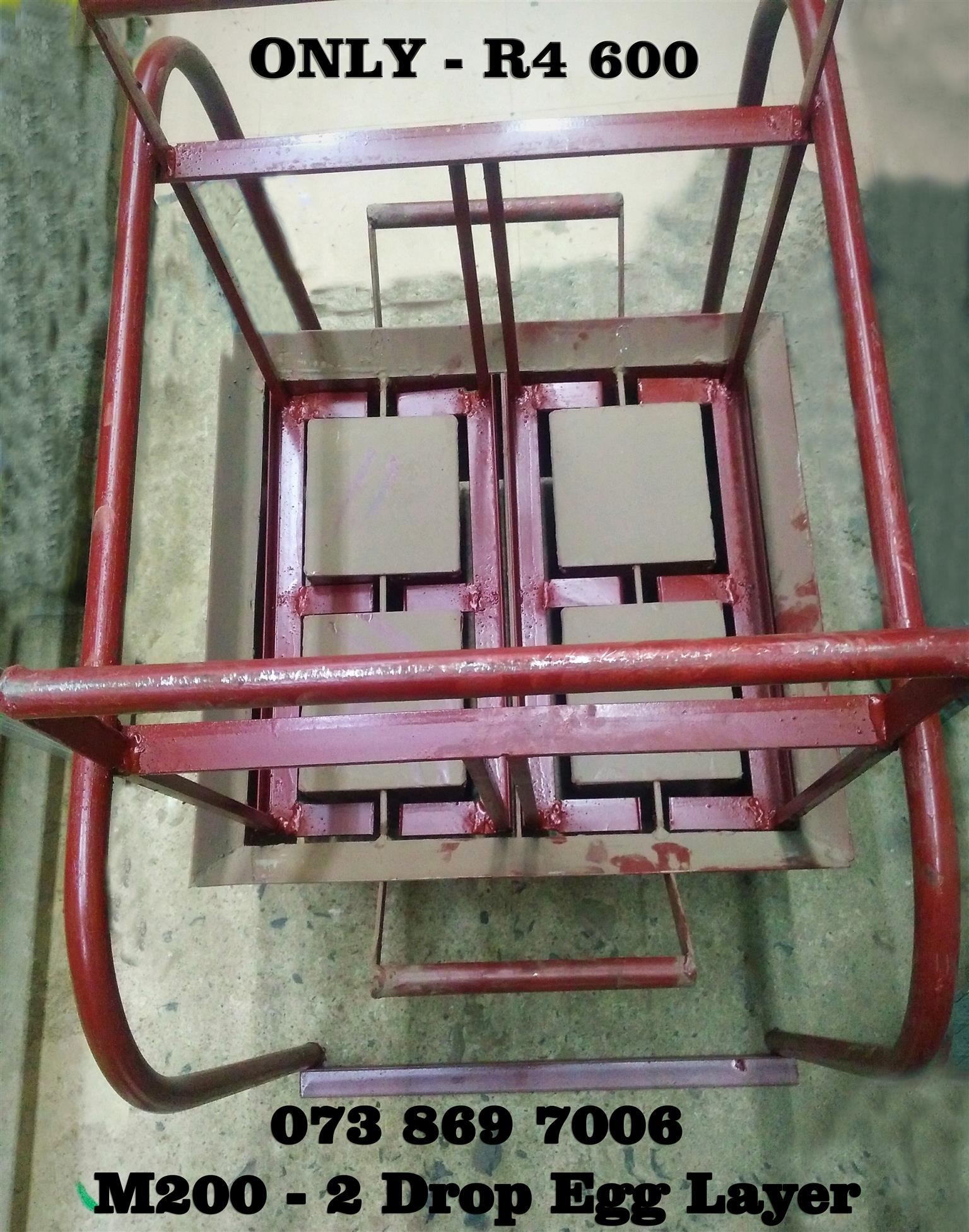 Block Making Machine – 2 Drop Egg Layer