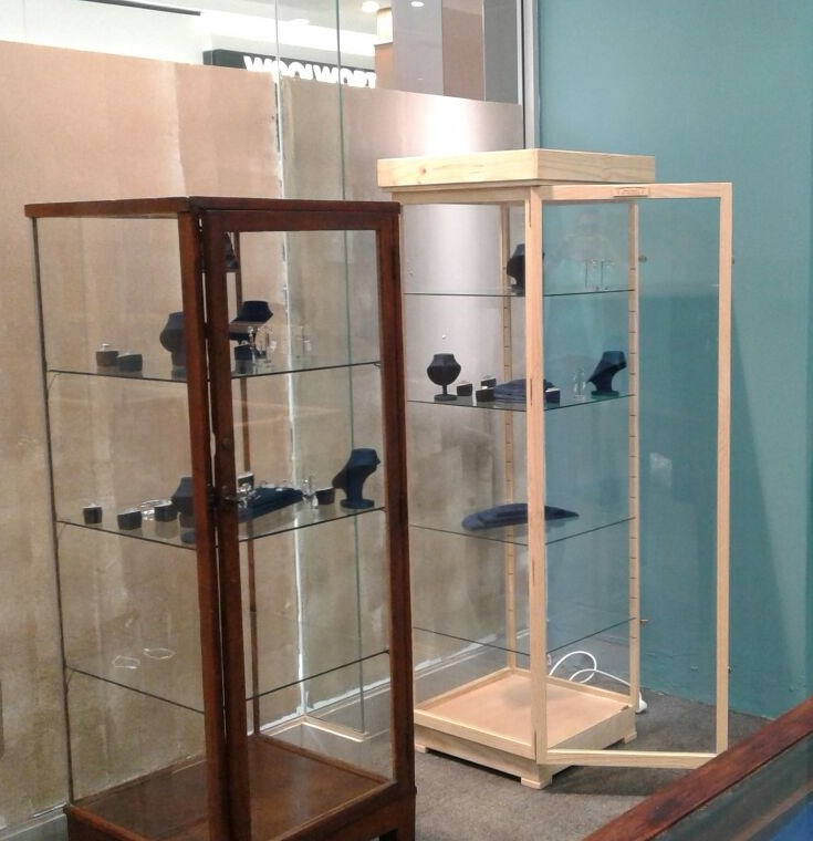 """Antique & Collectibles CABINETS /Show CASES """"Display Cabinets/ Show cases Custom made, Beautiful, Dust Proof !"""