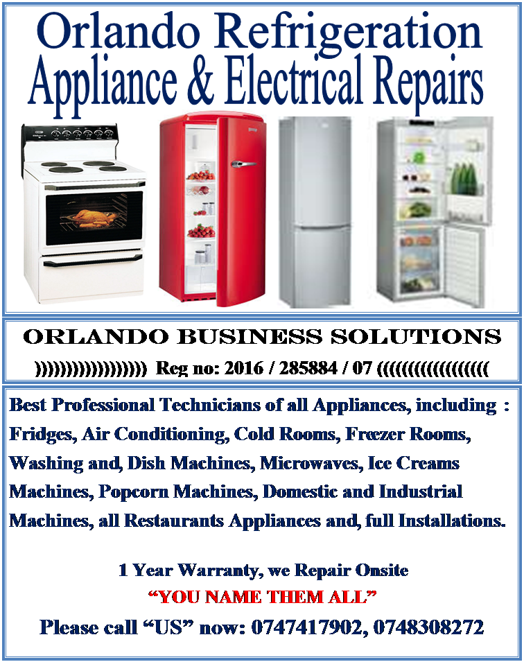ORLANDO REFRIGERATION APPLIANCE & ELETRICAL REPAIRS