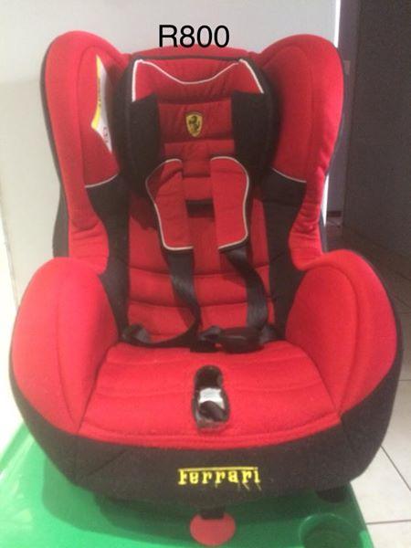 Nice Ferrari Baby Car Seat
