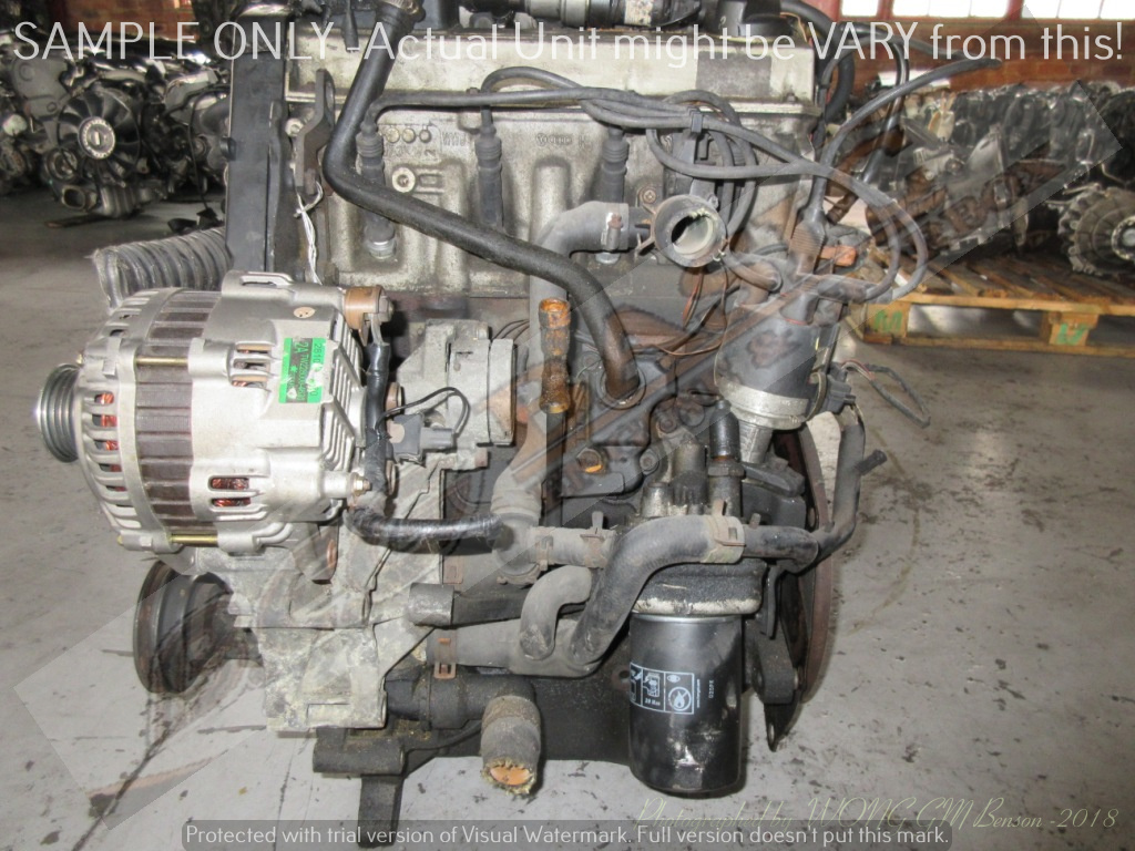 VOLKSWAGEN GOLF 1~3 -2E 2.0L EFI 8V Engine