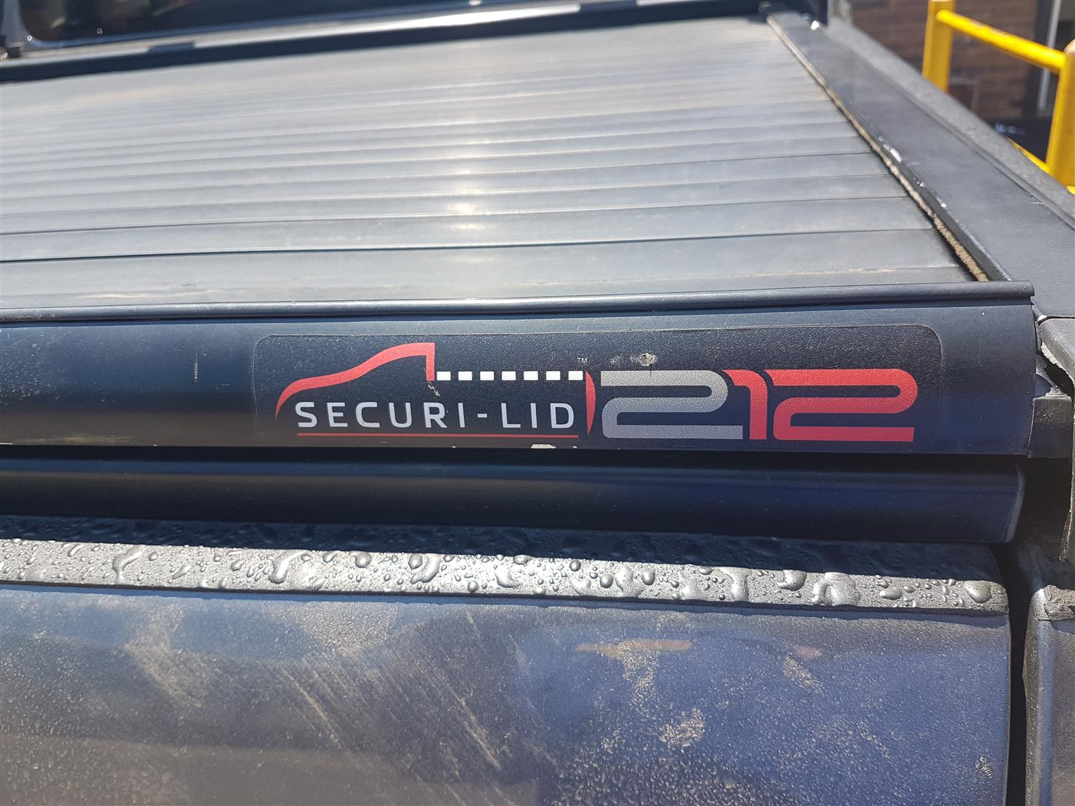 Amarok securi lid with crome roll bar for sale R7900