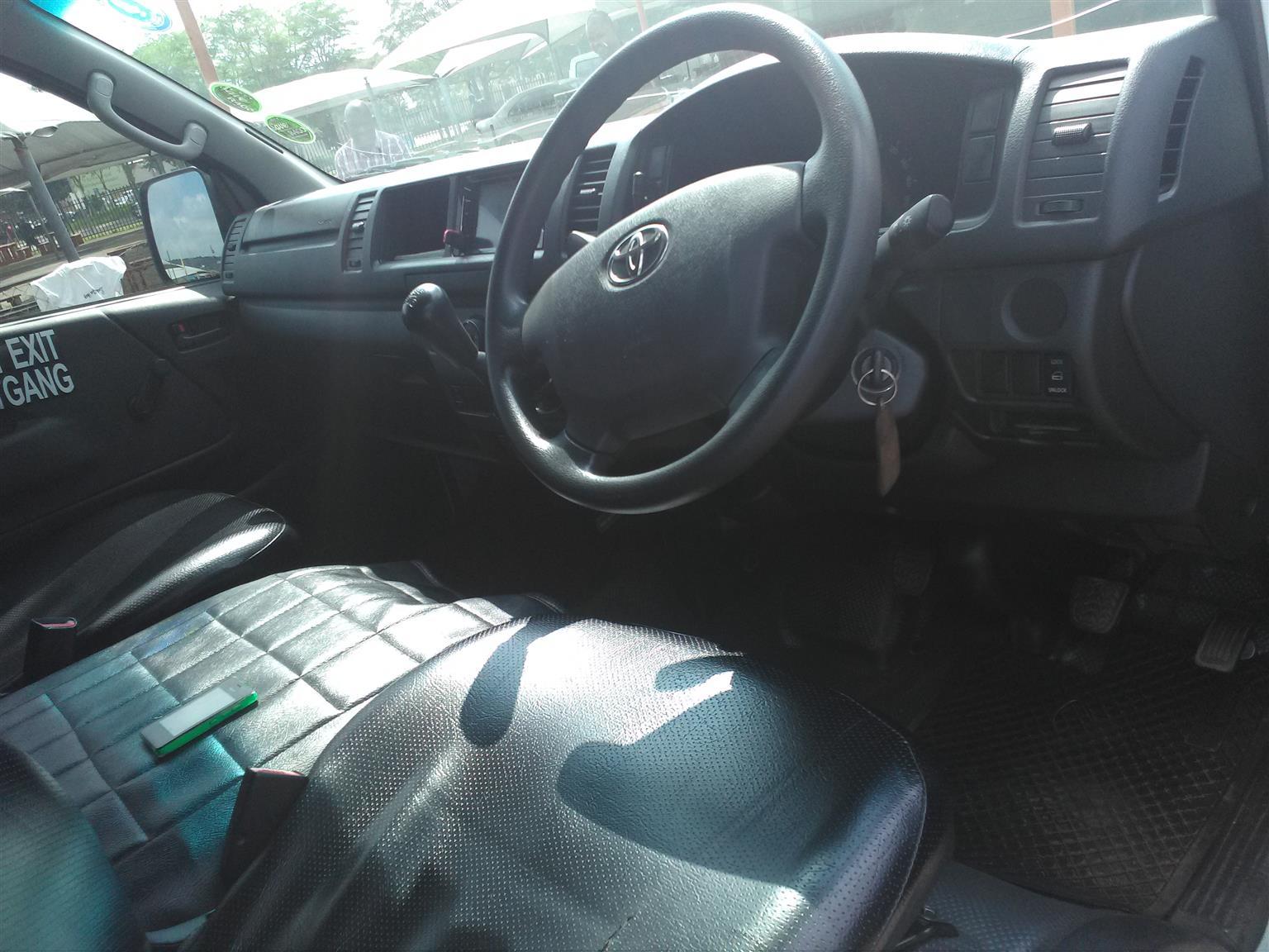 2017 Toyota Quantum 2.7 Ses'fikile