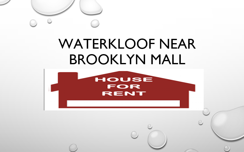 Waterkloof near Brooklyn mall house to let