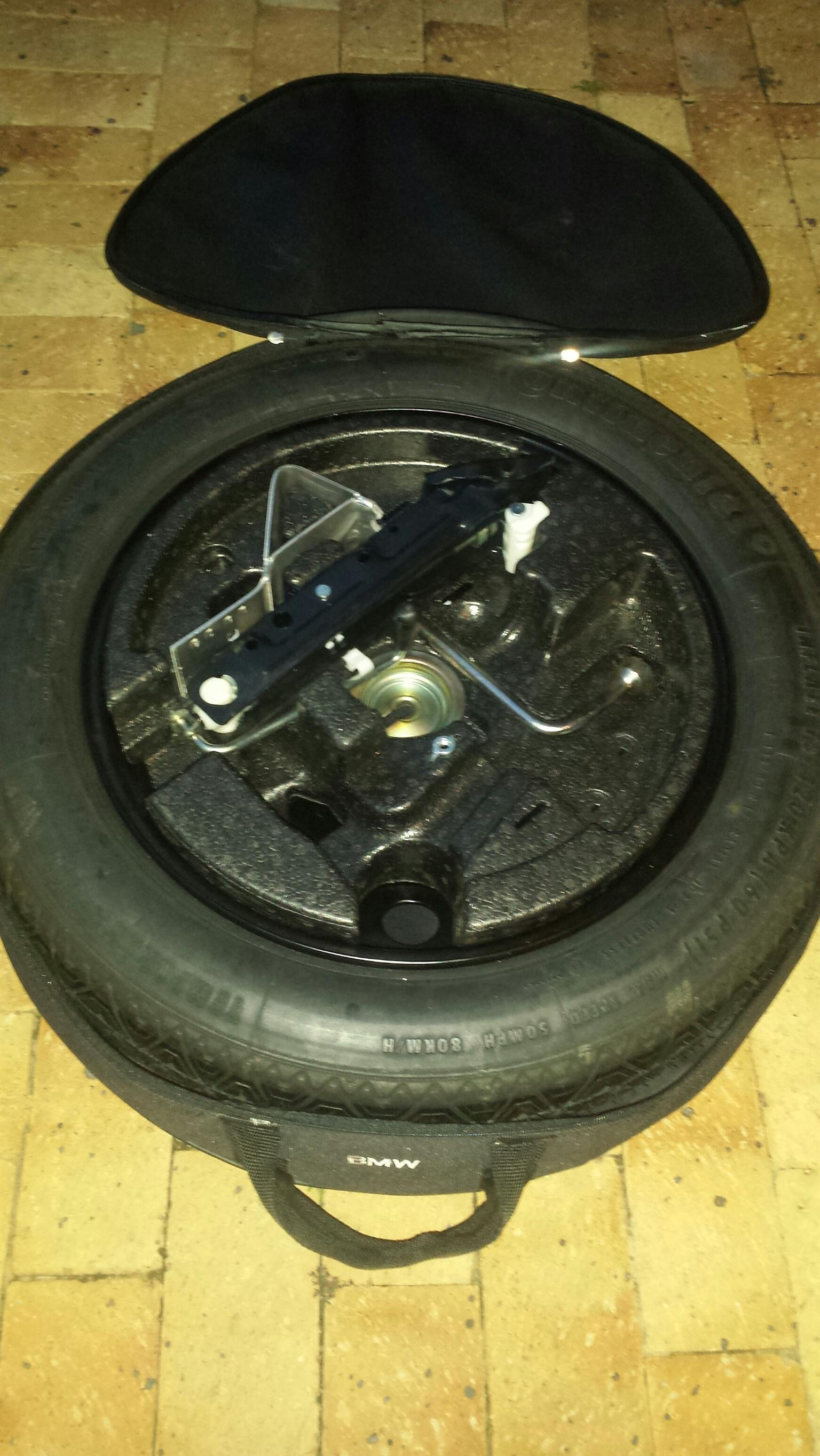 Original BMW 17 inch space saver spare wheel