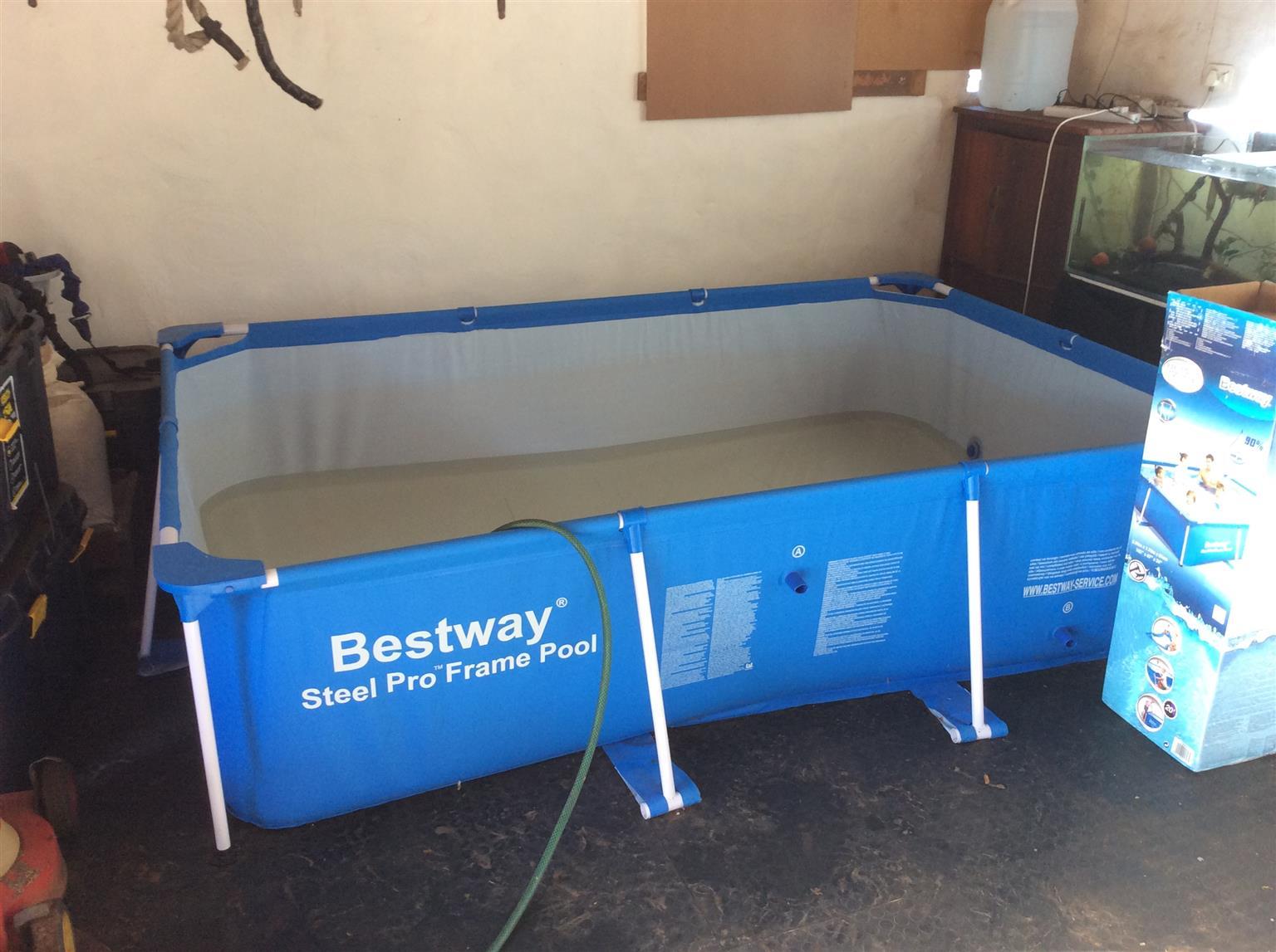 Portable pool steel frame bestway junk mail - Intex swimming pool accessories south africa ...