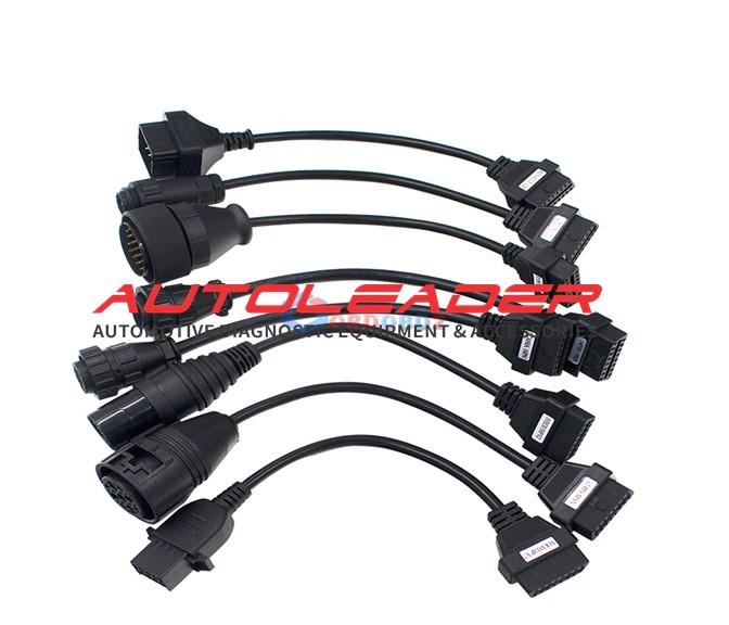 8pcs Full Set Truck Cables Adapters
