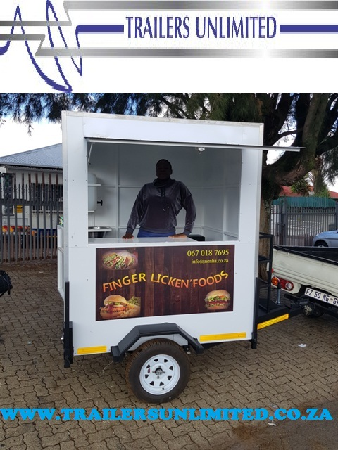 TRAILERS UNLIMITED BUDGET MOBILE KITCHEN. ONLY R31000