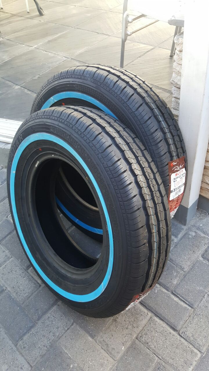 WHITE WALL TYRES from only R700each