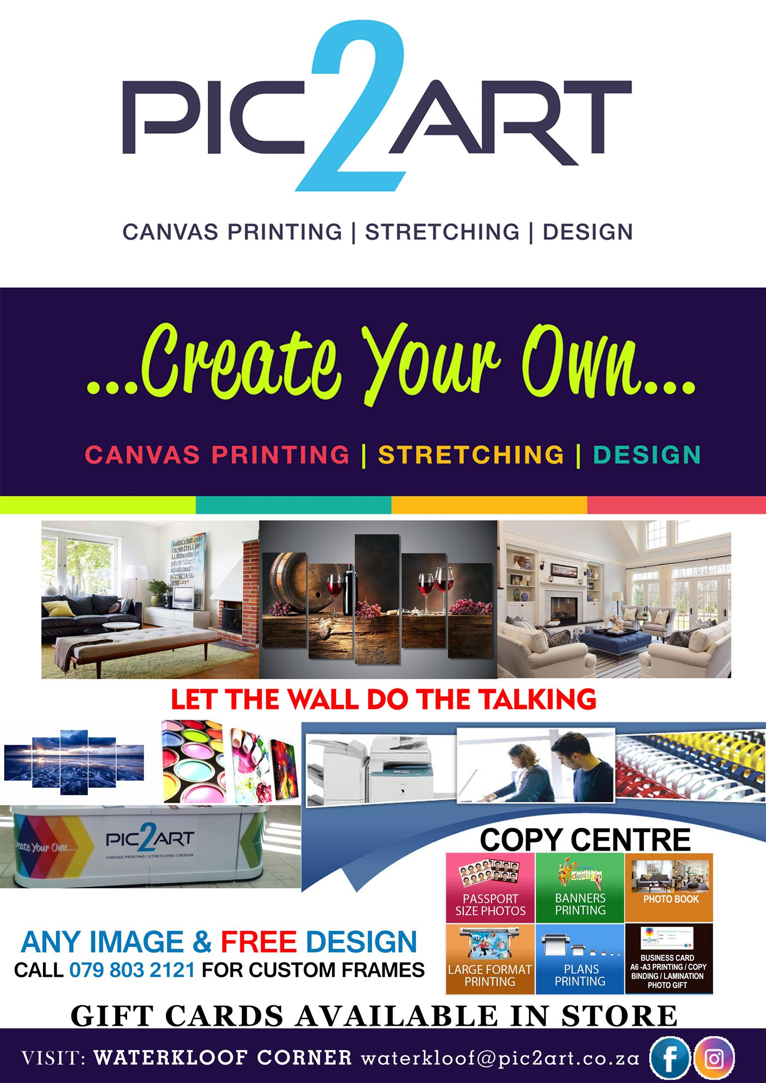 First class printing service
