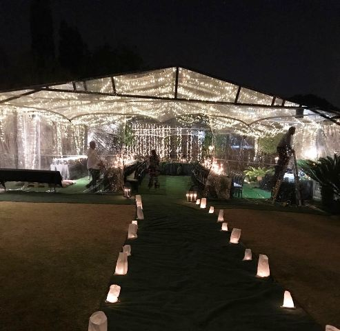 Frame Tents & Marquees for Hire
