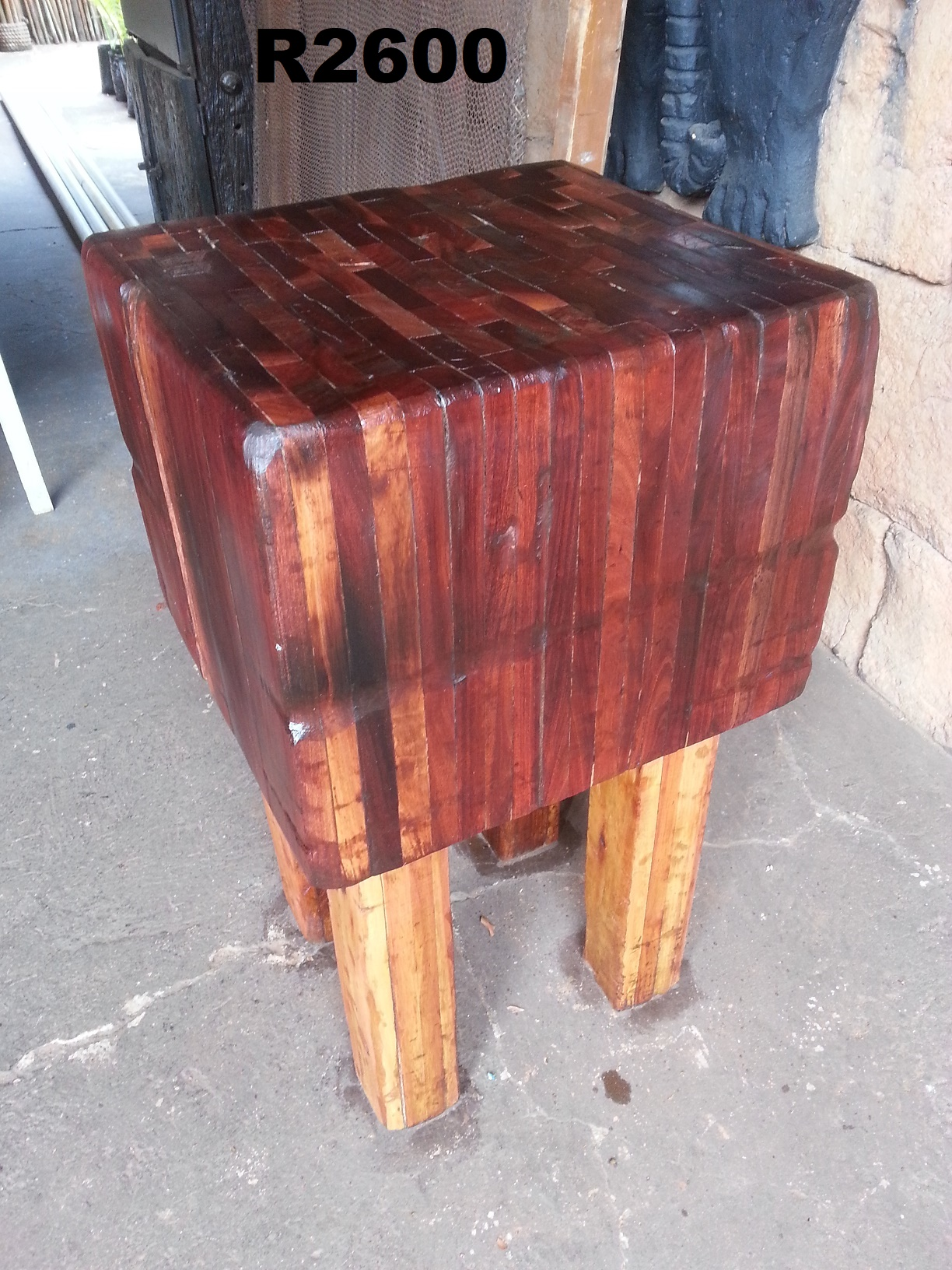 Heavy Duty Butchers Block (470x440x845)