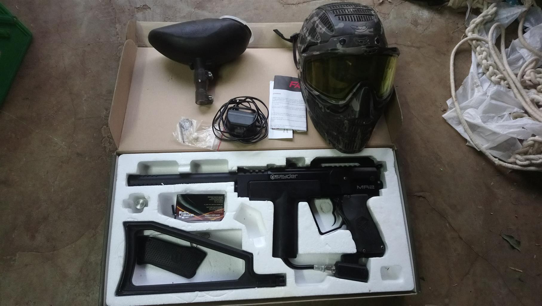 spyder mr2 paintball gun