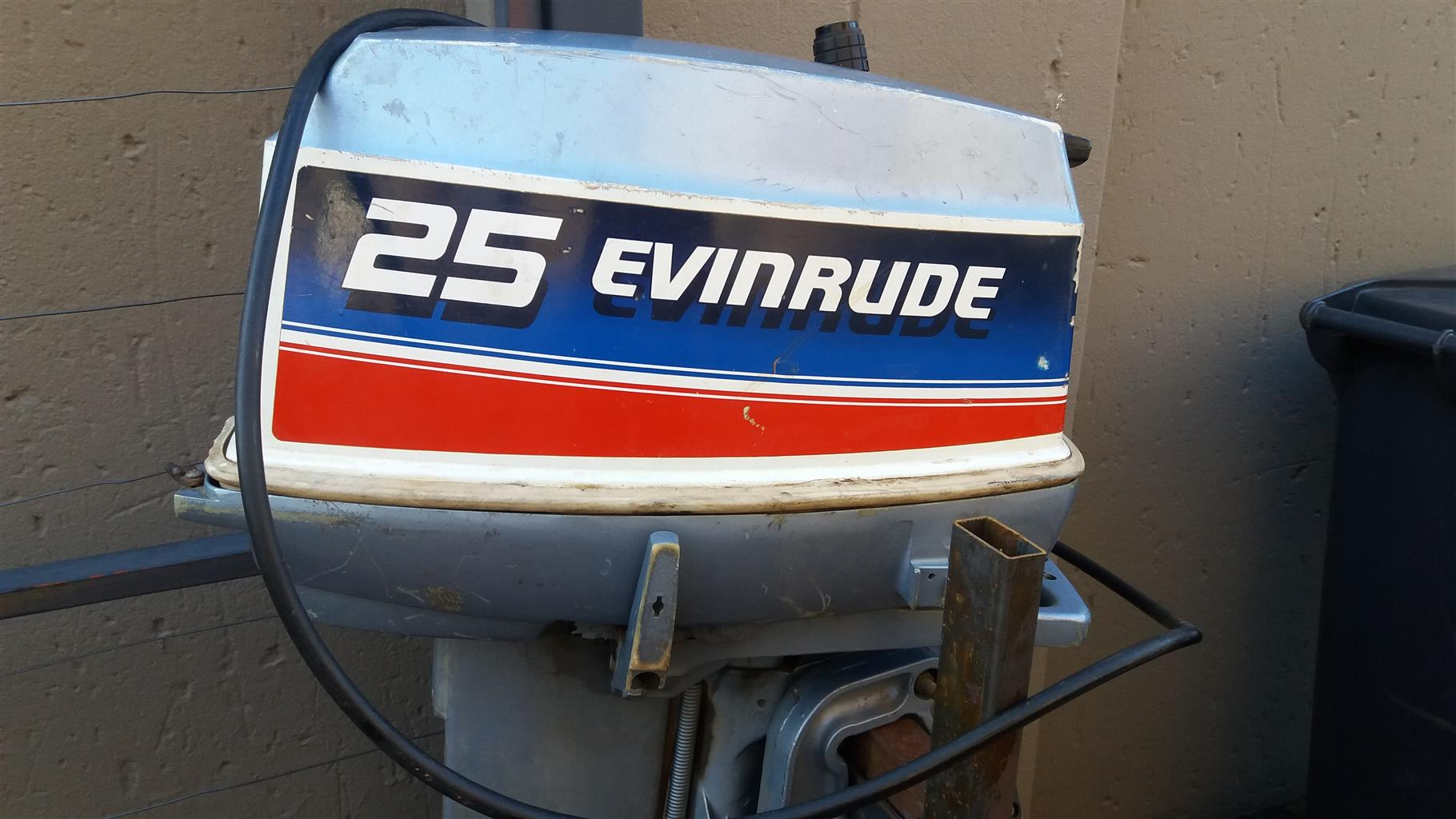 25 Hp Evinrude For Sale >> 25 Hp Evinrude Boat Engine For Sale Junk Mail