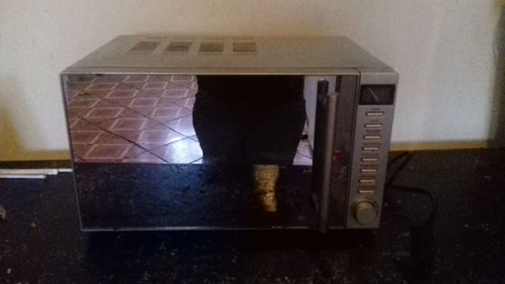 mirror microwave