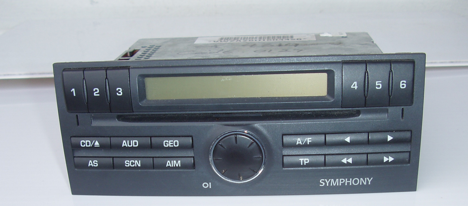 Symphony Car CD an Radio Player - in excellent condition