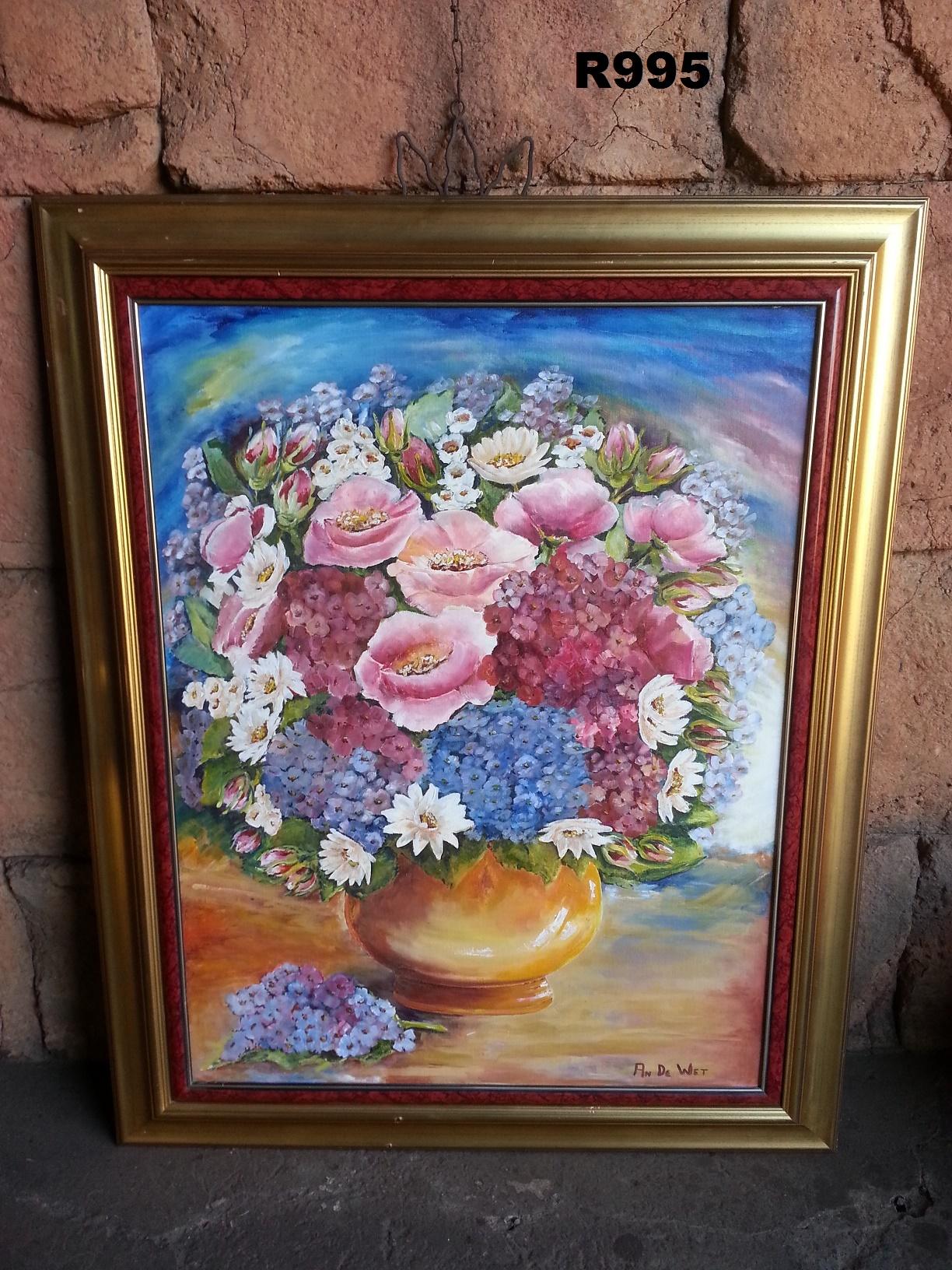 Original An de Wet Oil Painting (790x980)