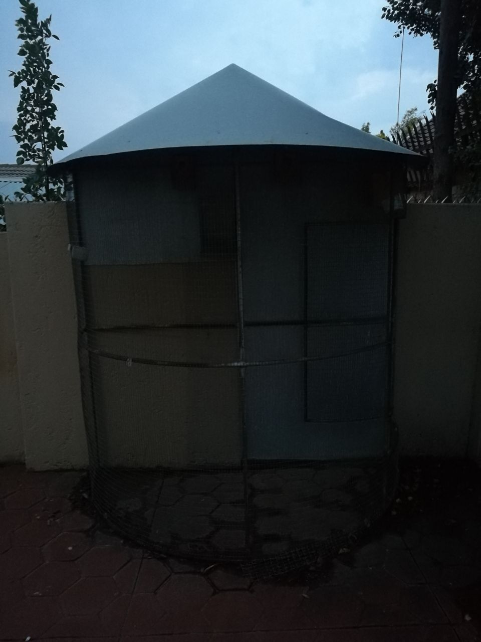 Big Outdoor Birdcage