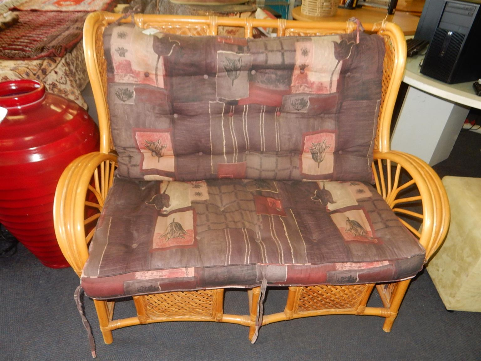 2 Seater Rottang Chair