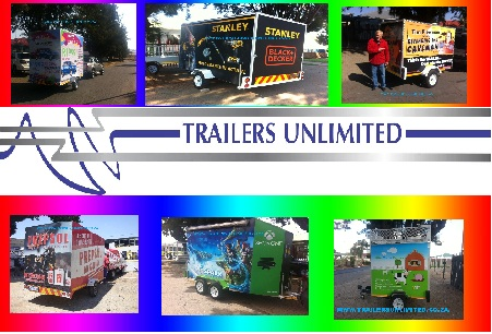 TRAILERS UNLIMITED. ENCLOSED TRAILERS FROM R21900