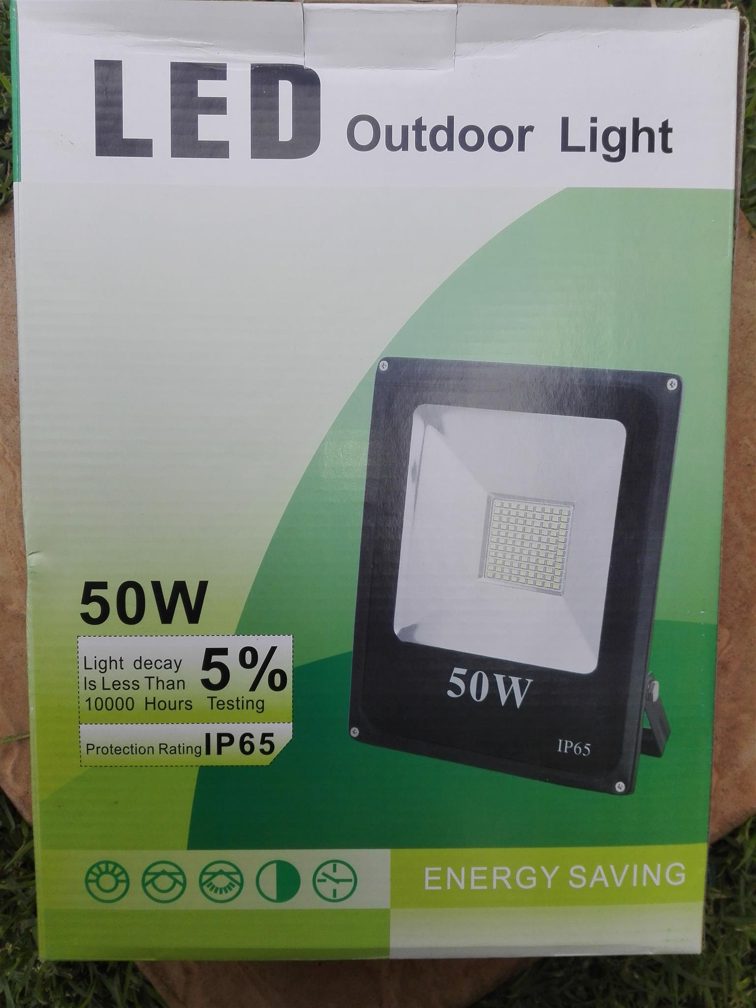 50 W LED OUTDOOR LIGHTS