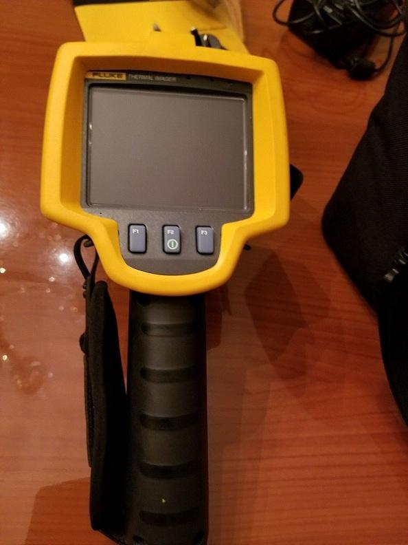 Fluke TI25 TI-25 Thermal Infrared Imager Imaging Camera IR-Fusion good condition