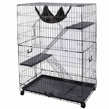 Cage used for marmoset monkeys