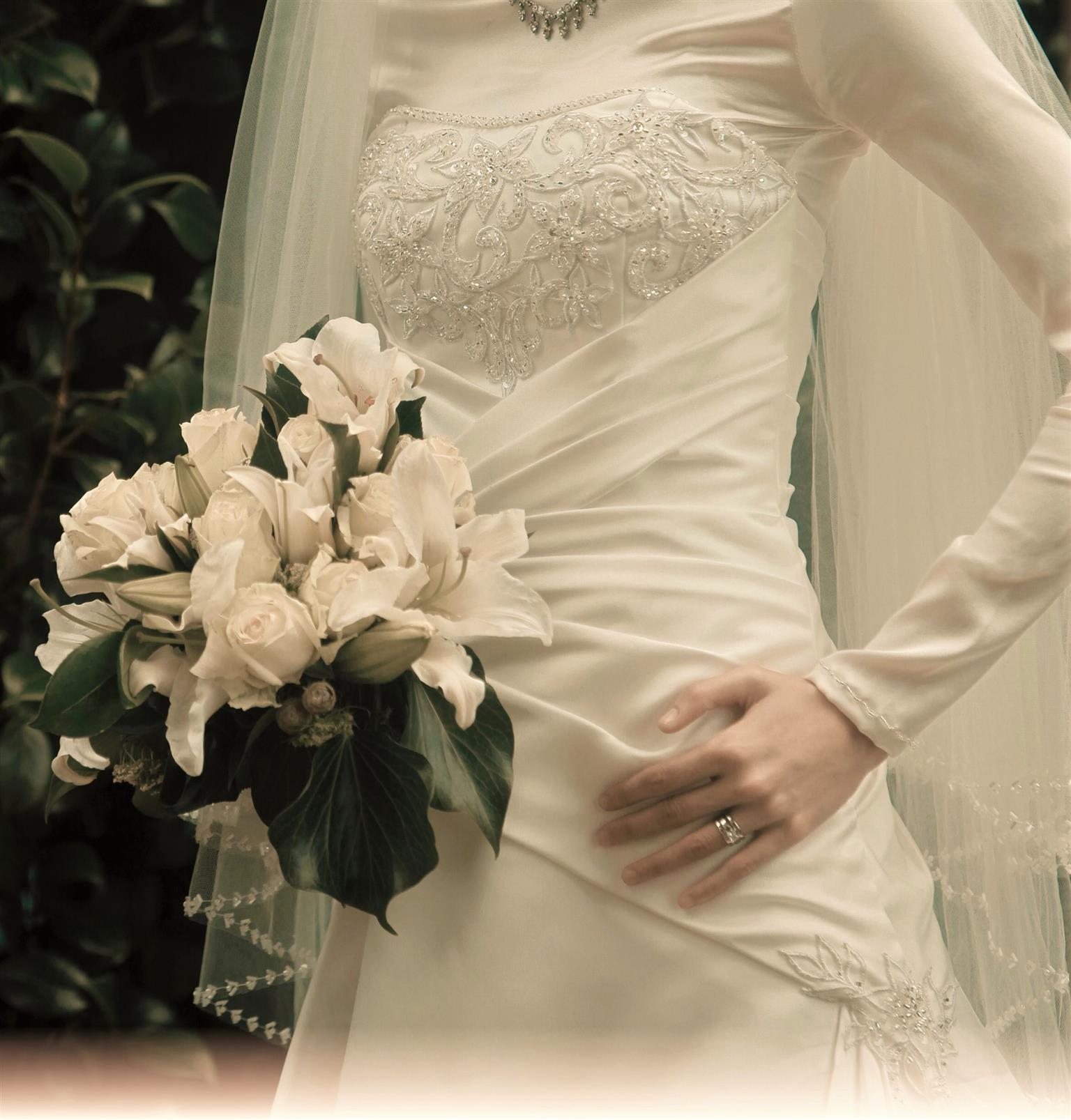 White Wedding Dress & Indian Wedding Dress For Hire