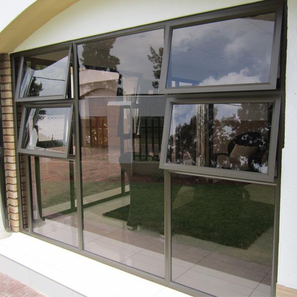 Aluminium windows, doors and shower doors.