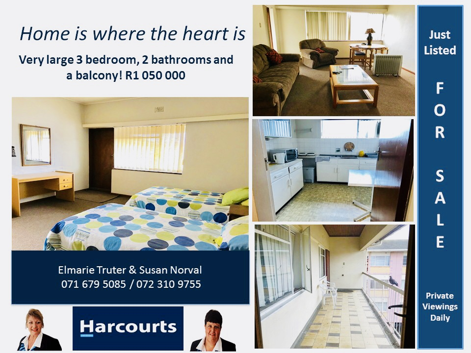 Large spacious apartment for sale !