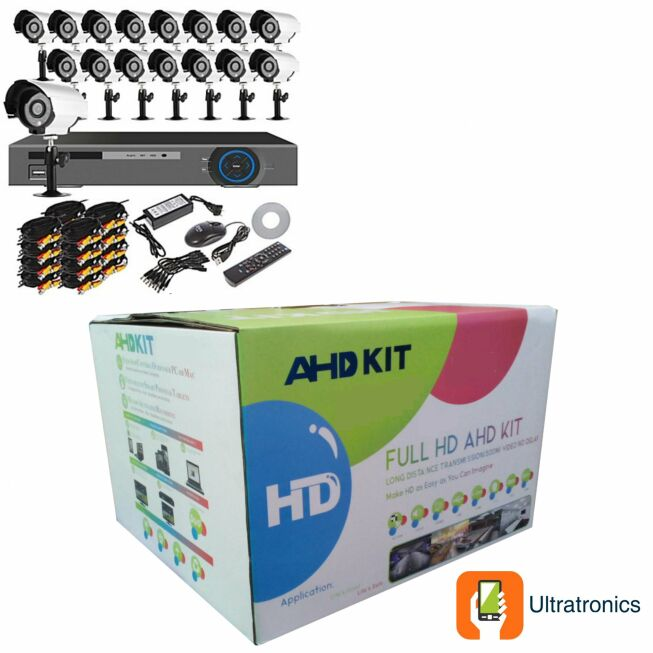 AHD CCTV Kit - 16 Channel - Excellent Quality!
