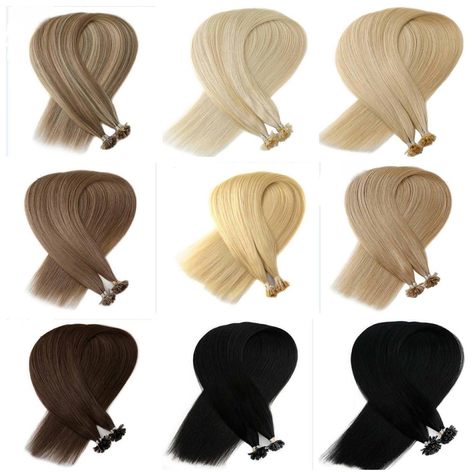 Double Drawn European Human Hair Extensions Russian Hair Junk Mail