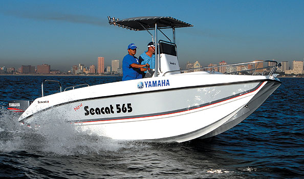 Seacat 565 C/C(BRAND NEW!) with 2 x YAMAHA 70HP Motors